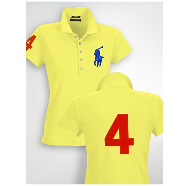 Polo Ralph Lauren Big pony polo in Yellow for women