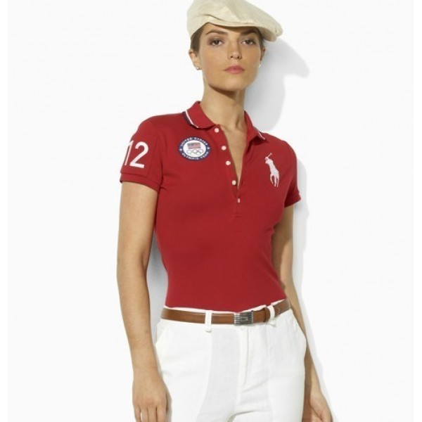 Polo Ralph Lauren Find comfortable red white olympic for women